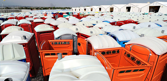 Champion Portable Toilets in Columbia, SC
